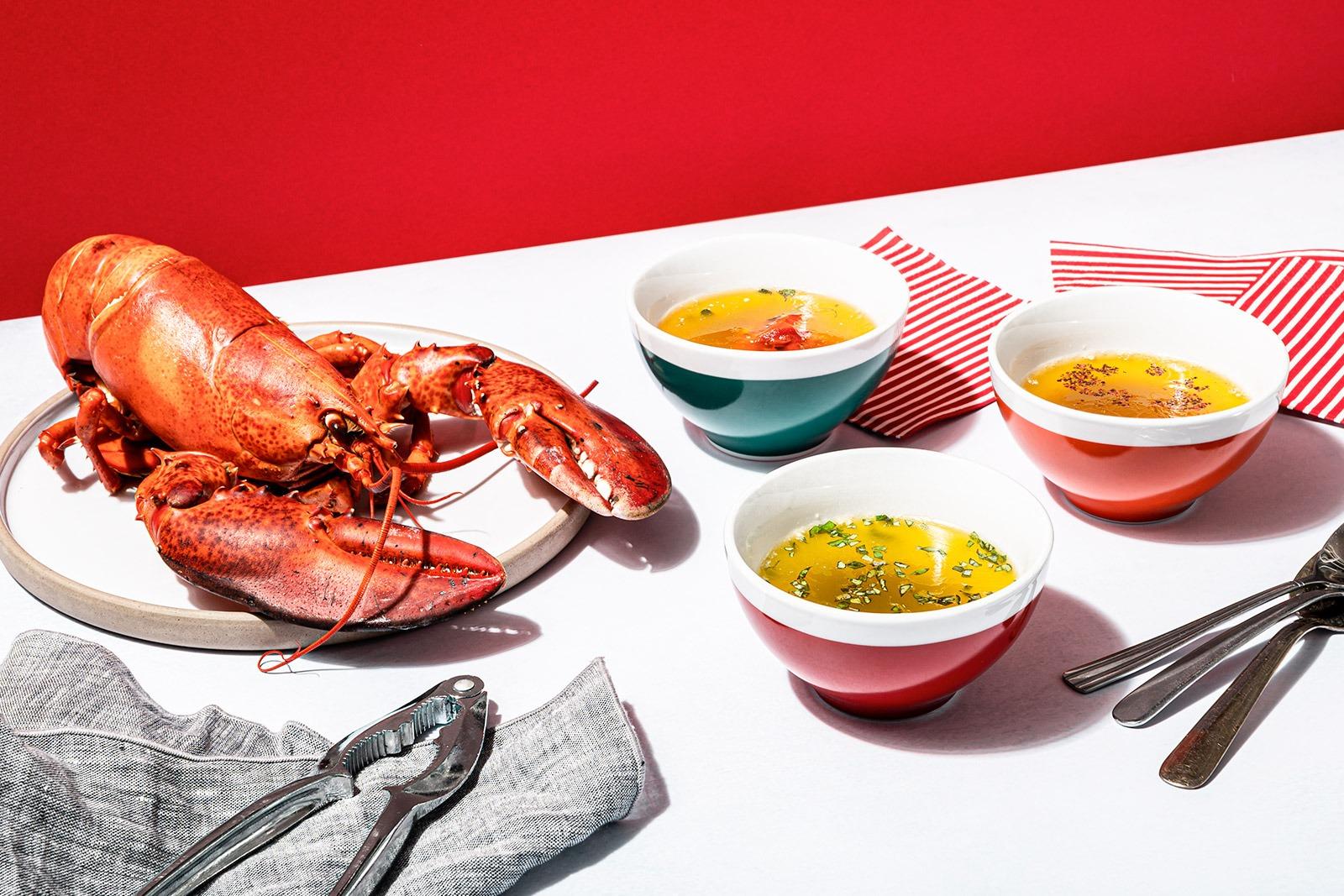 3 beurres vite faits bien faits pour accompagner votre homard